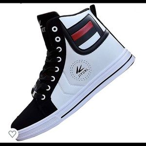 01001 Lot Fashion Men Casual Shoe High Top Sport